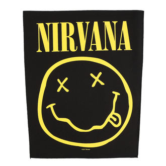 Large patch Nirvana - Smiley - RAZAMATAZ, RAZAMATAZ, Nirvana