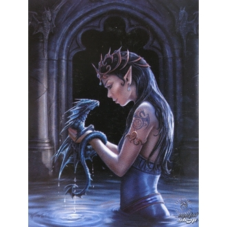 flag Anne Stokes - Water Dragon - HFL0974