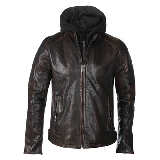 Men's jacket G2BLews SF LARETV - black/brown - M0012855
