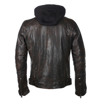 Men's jacket G2BLews SF LARETV - black/brown, NNM
