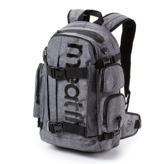 backpack MEATFLY - Wanderer 3 - A Heather Gray, MEATFLY