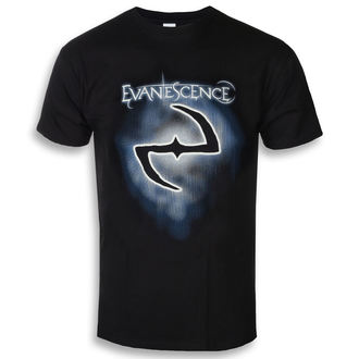 t-shirt metal men's Evanescence - Classic Logo - ROCK OFF, ROCK OFF, Evanescence