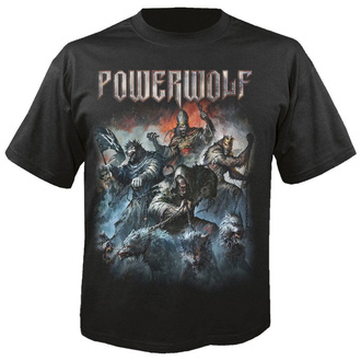 Men's t-shirt POWERWOLF - Best of the blessed - NUCLEAR BLAST - 29450_TS