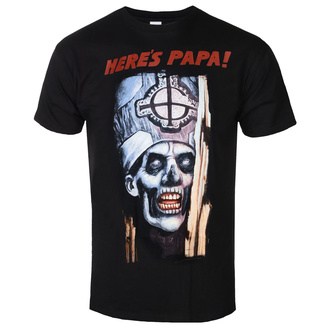 men's t-shirt Ghost - Here's Papa - ROCK OFF, ROCK OFF, Ghost