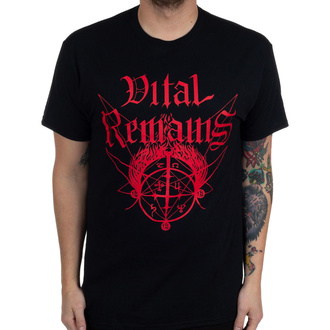 Men's t-shirt Vital Remains - Where Is Your God Now - Black - INDIEMERCH, INDIEMERCH, Vital Remains