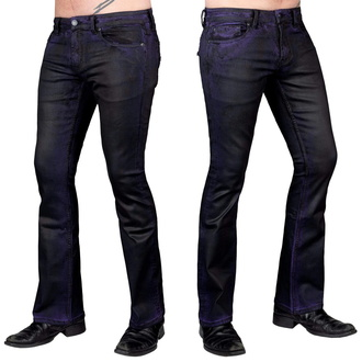 Men's pants (jeans) WORNSTAR - Hellraiser Coated - Purple Haze, WORNSTAR