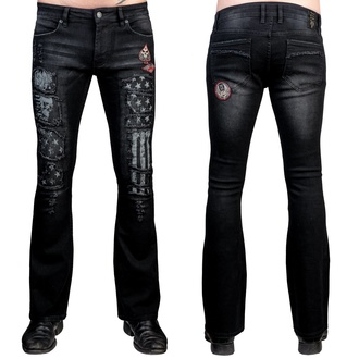 Men's trousers (jeans) WORNSTAR - Riven - Black, WORNSTAR