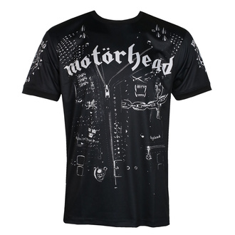 Men's t-shirt (technical) Motörhead - LEATHER VEST - BLACK - AMPLIFIED - ZAV767D39