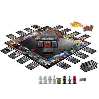 Board game STAR WARS - Monopoly The Mandalorian *English Version*, NNM, Star Wars