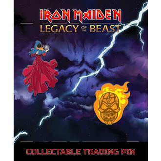 Tacks Iron Maiden - Legacy of the Beast - Clairvoyant & Wicker Man, NNM, Iron Maiden