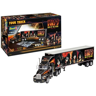 Decoration (truck-model) Kiss - Model Kit 1/32 Tour Truck, NNM, Kiss