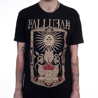 t-shirt metal men's Fallujah - Wolves - INDIEMERCH, INDIEMERCH, Fallujah