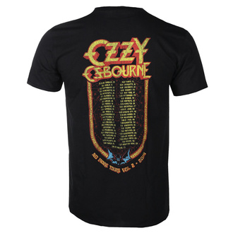 t-shirt metal men's Ozzy Osbourne - Bat Circle - ROCK OFF, ROCK OFF, Ozzy Osbourne