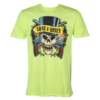 Men's t-shirt Guns N' Roses - DEATH SKULL - OCEAN COLOR GREEN - AMPLIFIED, AMPLIFIED, Guns N' Roses