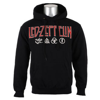 hoodie men's Led Zeppelin - LOGO & SYMBOLS - PLASTIC HEAD, PLASTIC HEAD, Led Zeppelin