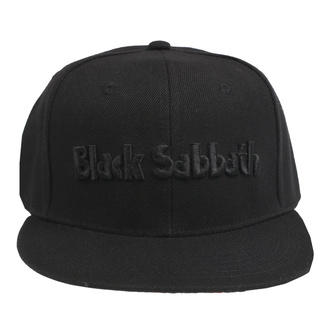 Cap Black Sabbath - Logo & Demon - ROCK OFF, ROCK OFF, Black Sabbath