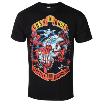 t-shirt metal men's Guns N' Roses - Appetite for destruction - BRAVADO, BRAVADO, Guns N' Roses