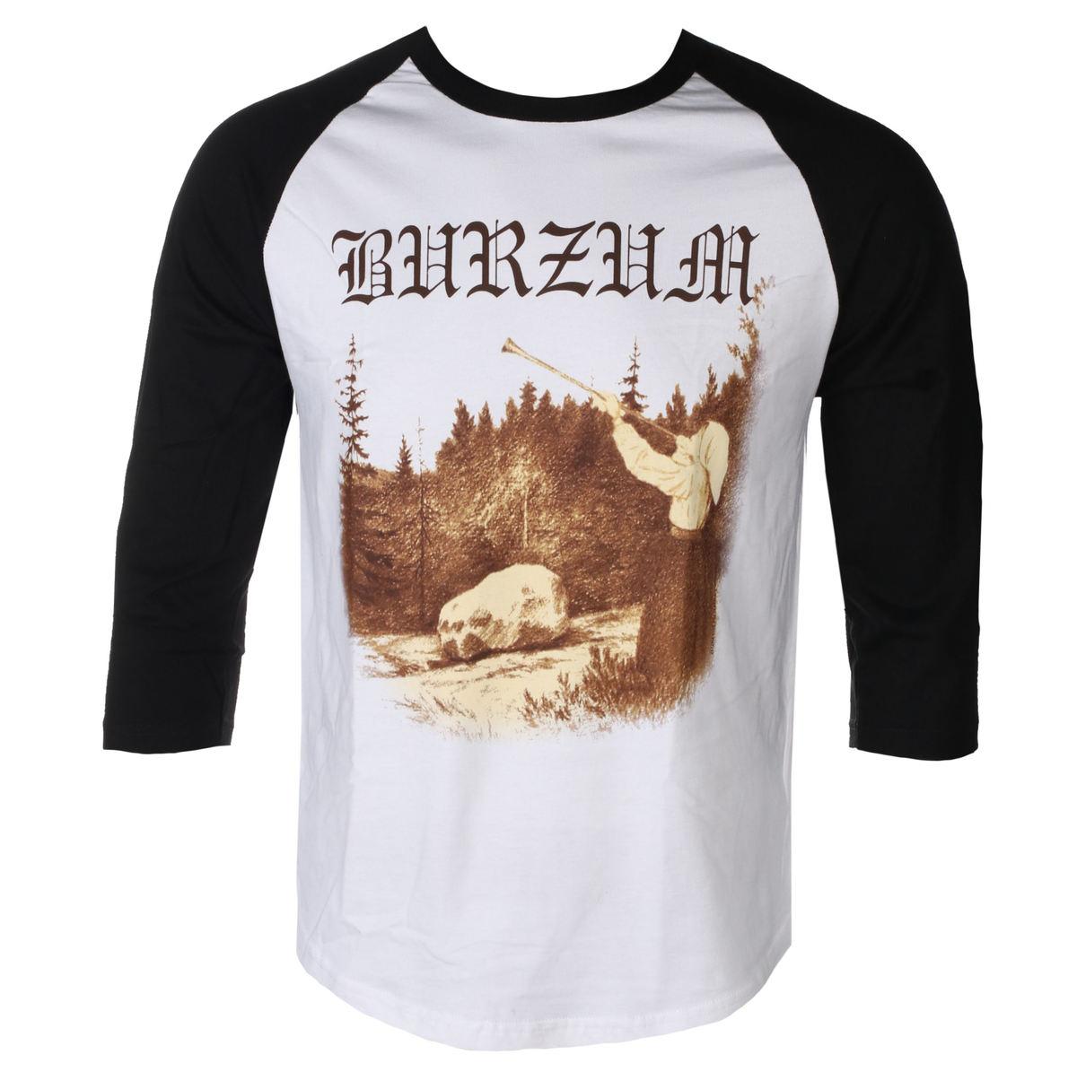 7360fe26d t-shirt metal men's Burzum - FILOSOFEM - PLASTIC HEAD - PH7137LSB - metal -shop.eu